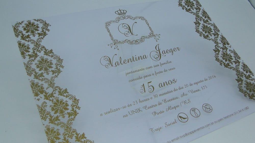 Convite De Aniversario De 15 Anos: Convites De Casamento Em Porto